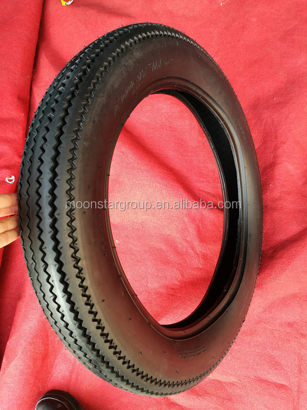 china sawtooth pattern 4.00-17 motorcycle tire for sale