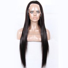New Design 150% Density Glueless silk top wig 100% Indian Remy Human Hair 26 Inch Transparent Color Lace Silk Top Full Lace Wig