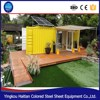 brand low cost light steel structure prefab flat pack office container house