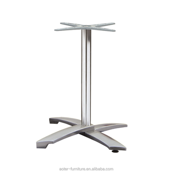 Hot selling aluminium folding sofa table stainess steel table leg