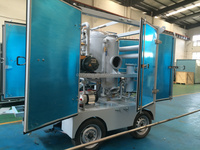 Mobile Dielectric Oil Filtering and Purification Machine for Power Transformer
