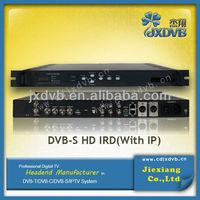 broadcast headend decoder card sharing satellite receivers