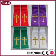 Wholesale Church Hot Sale Clergy Apparel Priest stole Clergy Stole