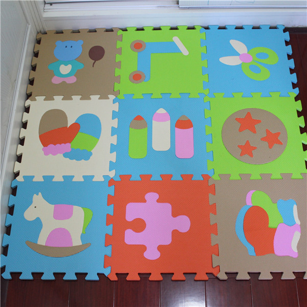Soft educational puzzle toys