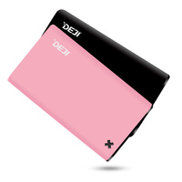 Shenzhen Mobile Power Supply, Super Slim credit card Power Bank 2000mah