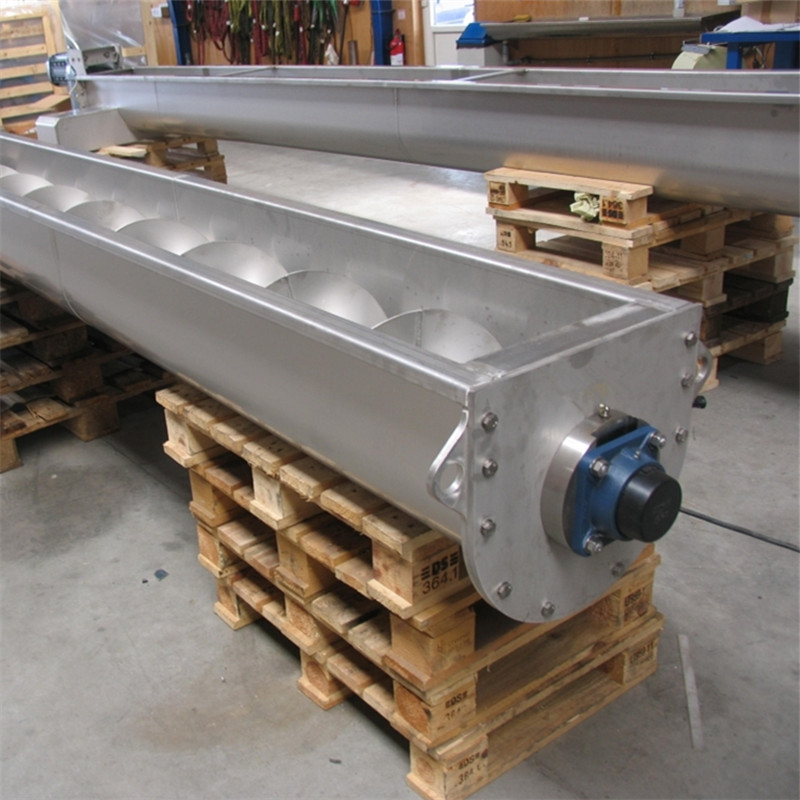 small stainless steel screw tube conveyor manufacture