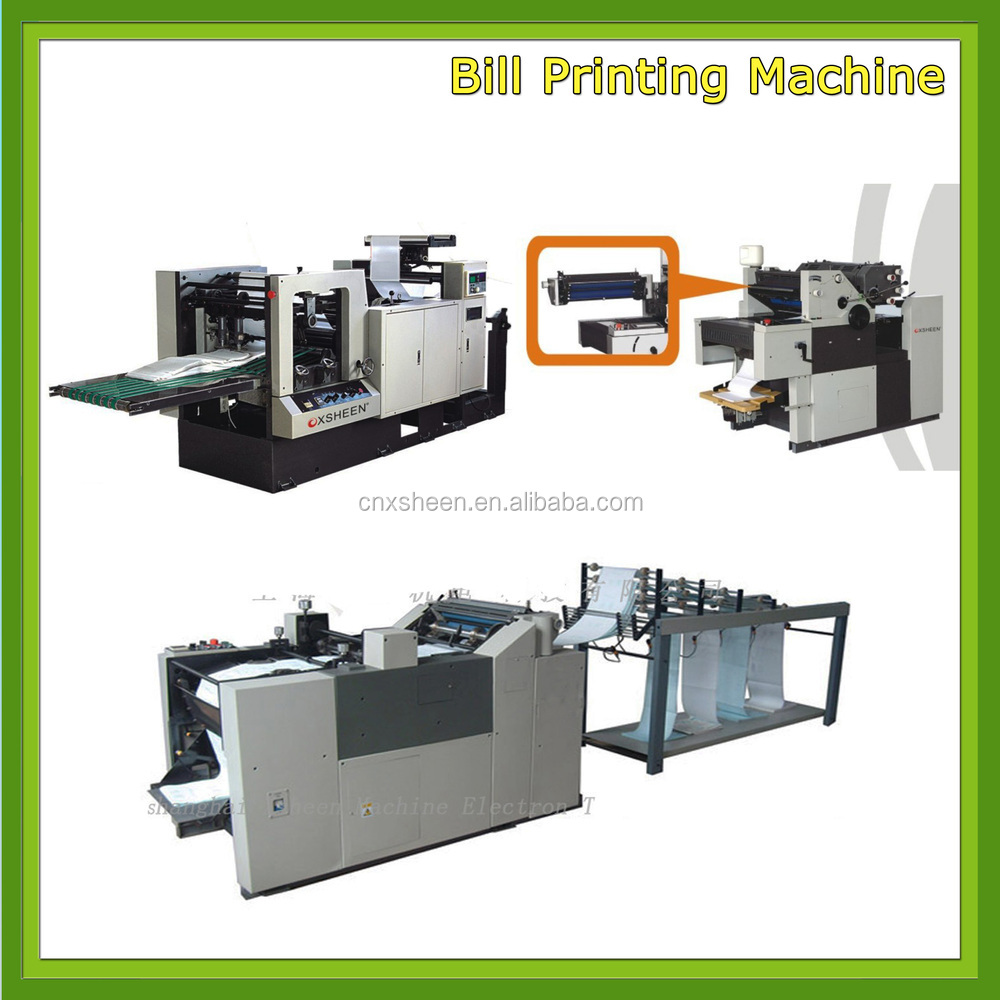 offset printing machine 4 color, offset printing machine germany, computer bill printing machine