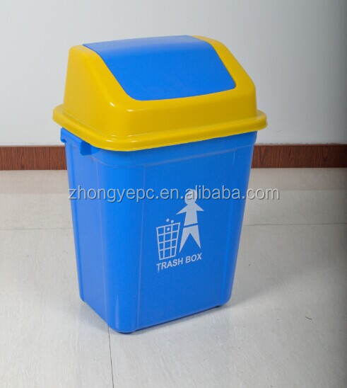 indoor 20L HDPE whoesale street hospital hotel garbage plastic trash bag eko friendly plastic trash can trash bin
