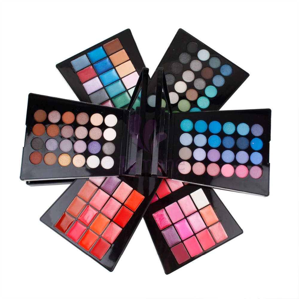 2016 New Professional Wholesale Glow Kit Your Own Brand Waterproof Beauty Cosmetics Makeup kit