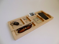 China professional high quality customized decorative wooden desk organizers supplier