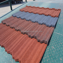 Tongyuan Guangzhou building material/Strong sand coated metal roofing tiles/Flat concrete roof tile