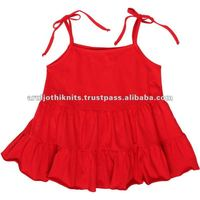 GIRLS TIERED DRESS WITH FRILLED DESIGN