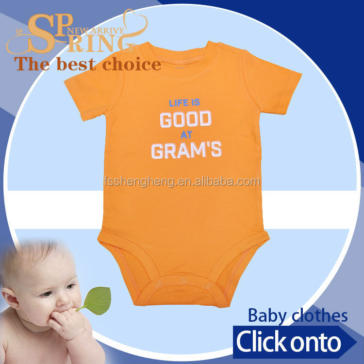 2015 wholesale newborn baby clothes infant house wear