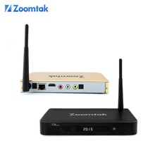 Zoomtak T8 Plus 4K google android 4.4 quad core tv box Support OTA update IPTV set top box stalker Dual band wifi