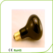 r80 black light bulb round shape infrared heat lamp medical