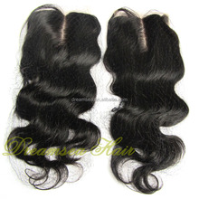 Middle Parting Natural Brazilian Hair Pieces Accept Paypal