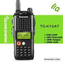 10W handheld type high quality FM radio two way radio TG-K10AT