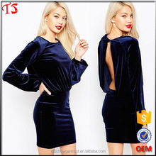 China manufacturer wholesale velvet best selling products ladies office wear