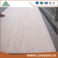 Best Price Decoration Grade Red Oak Faced Plywood