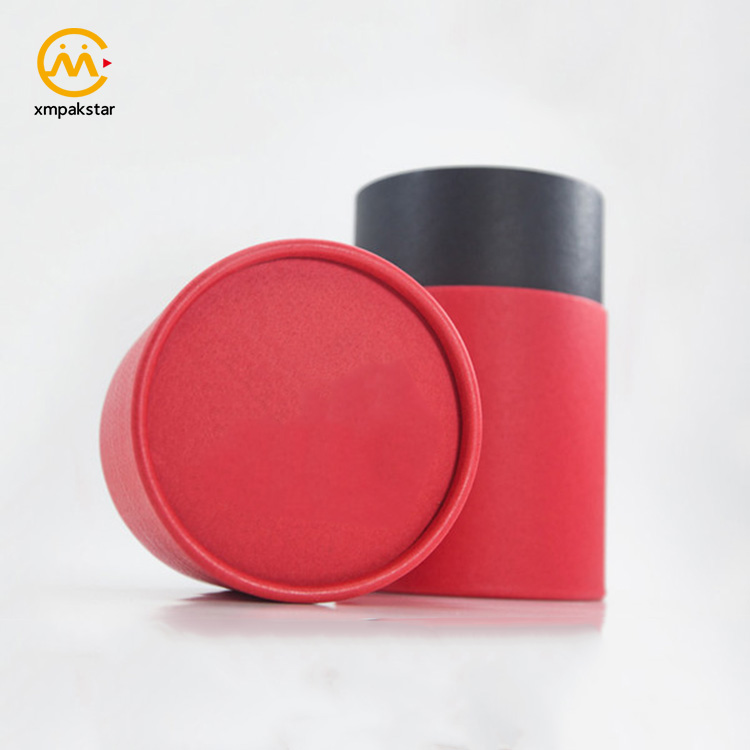 Factory high quality custom empty round cardboard paper man underwear packaging box