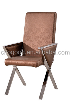 dining chair brushed metal frame wholesale