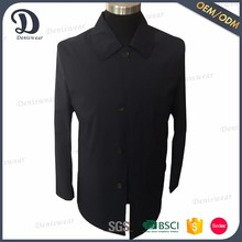 New design fashion outdoor black jacket men