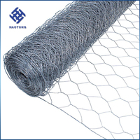 hot dipped / electro galvanized hexagonal wire mesh