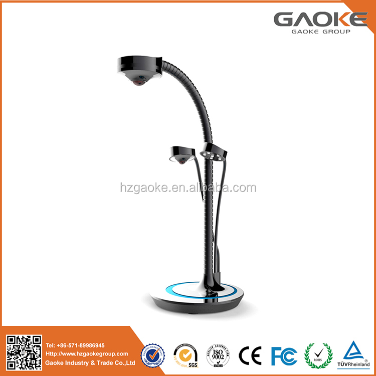 China wholesale 5 mega pixels 360 degree rotation portable document camera