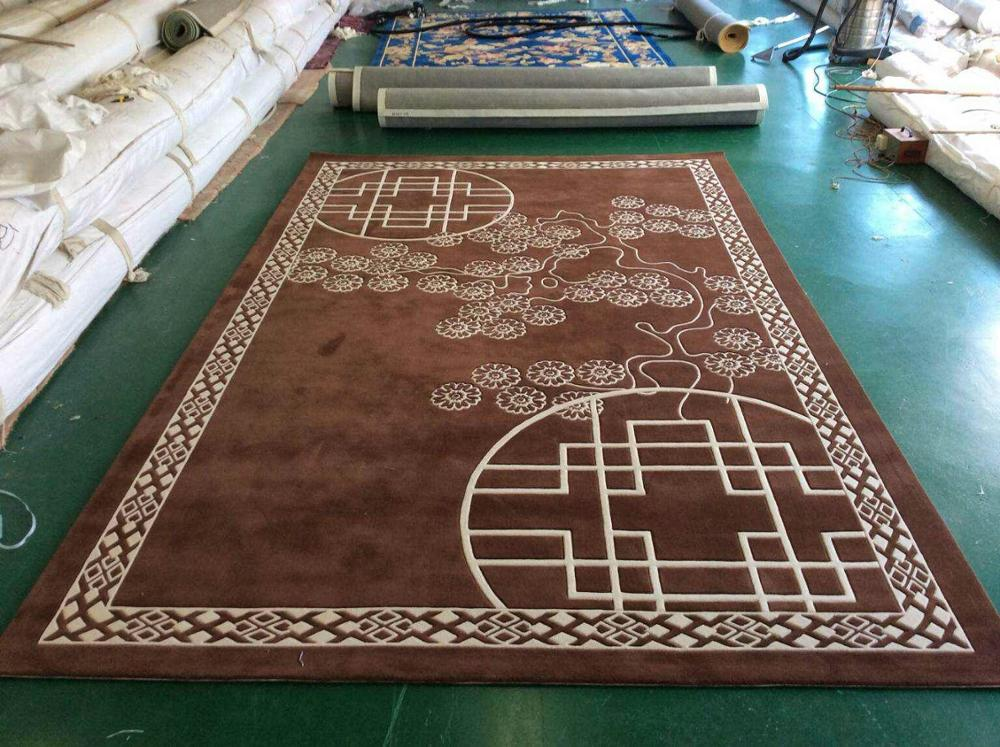 hand tufted carpet made in china carpet factory at love price