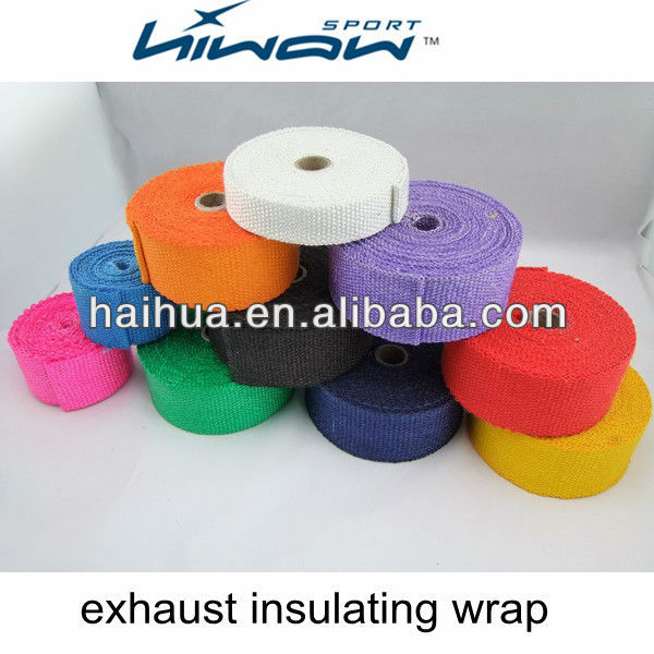 exhaust insulating wrap