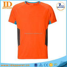 new design orange cotton t-shirts wholesale bandung indonesia