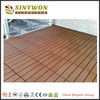 Pure Color Anti-fouling Garden Composite DIY WPC Decking Price