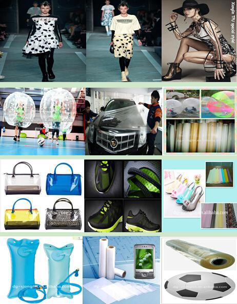 TPU tent film /high clear film/ TPU transparent sheet for inflatable product, tents window, protector
