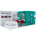 Detian Offer 10 by 20 exhibition display portable stand design for trade show expo