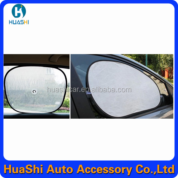 Solar Protection Rear Window Sunshade Cover Visor Shield Screen Black Mesh Side Car Sun Shade