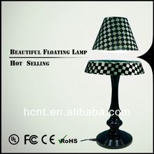 New Invention ! Electromagnetic levitating table light, 2013 new fashionable led table light with stainless steel body