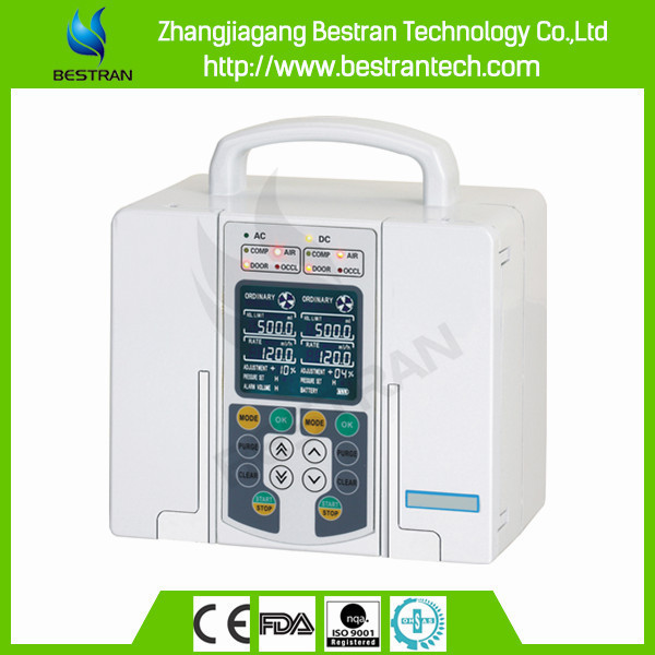 China BT-IP120 Medical double channel infusion pump, portable enteral feeding pump