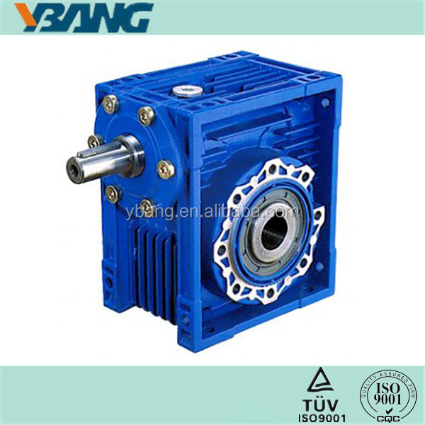NRV series Single Stage Aluminum Worm Gear Reducer
