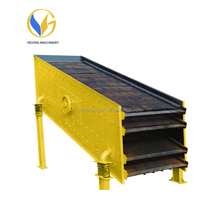 Good quality vibrating screen for aggregate with high efficiency from YIGONG machinery
