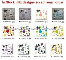 Wholesale patterned napkins Polka Dot Party Napkins polkadot paper napkins 12 colours