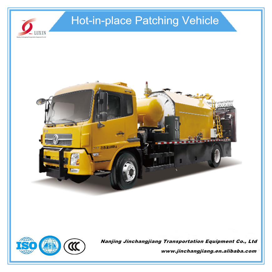 2016 China asphalt rode maintenance paver equipment repairing machine recycling heat regeneration truck cheap price for sale