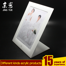 nice small magnet double side pmma plexiglass acrylic baby photo frame