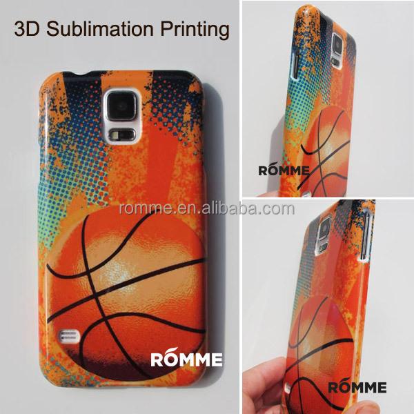 Professionally Mobile Phone Case Manufacturer Supply 3D Sublimation Transfer Printing for samsung galaxy s5 case cover