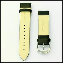 Fashion type quality genuine band leather wrist watch wide strap
