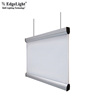 Edgelight AF60 hanging double sided led flat panel acrylic LED displays