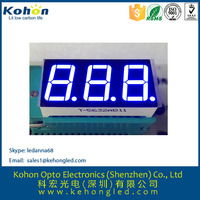 China best selling products blue color seven segment LED display