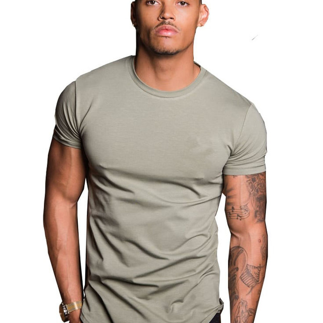 The factory price popular hot style gymwear fitness custom men t-shirt