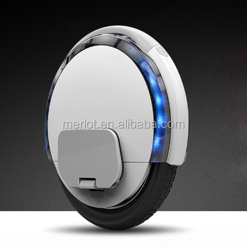 2016 super wheel electric scooter unicycle with training wheel,china supplier