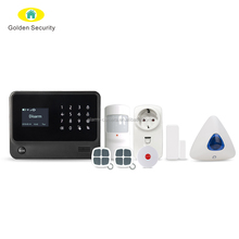 3G WIFI GPRS Home Alarm System GS-G90BPLUS Work With Wireless WIFI IP Camera Burglar Alarm