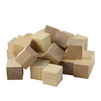 Unfinished Wooden Blocks For Crafts And